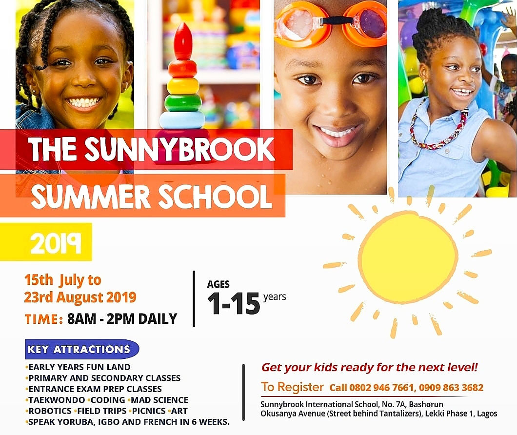 Early Years Fun Land, Primary and Secondary Classes, Entrance Exam Prep Classes, Taekwondo, Coding, Mad Science, Robotics, Field Trips, Picnics, Art, Speak Yoruba, Igbo and French in 6 weeks, and so much more. Get your kids ready for the next level!